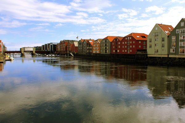 Discover Trondheims Waterfront on this guided tour